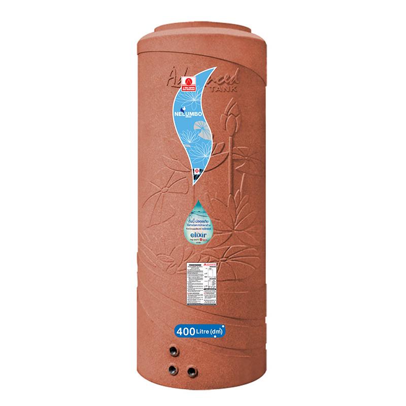 NLS 400 ถังเก็บน้ำบนดินเอลิเซอร์แบบเดินท่อภายในความจุ 400 ลิตร - ADVANCE