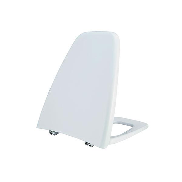 TZ01 ฝารองนั่งทรงสี่เหลี่ยมคางหมู (PLAZA TOILET-SEAT) - PIXO