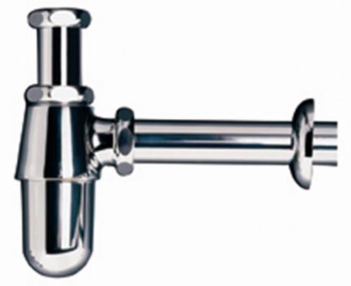 CT680(HM) ท่อน้ำทิ้งอ่างล้างหน้าแบบกระปุก ยาว 24 ซม. - COTTO