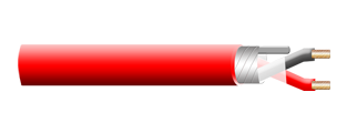 FIRE ALARM CABLE, 105C RATED, SHIELD MULTI CONDUCTOR