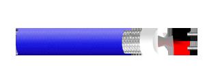 MICROPHONE STERIO CABLE, FOIL/BRAID SHIELD