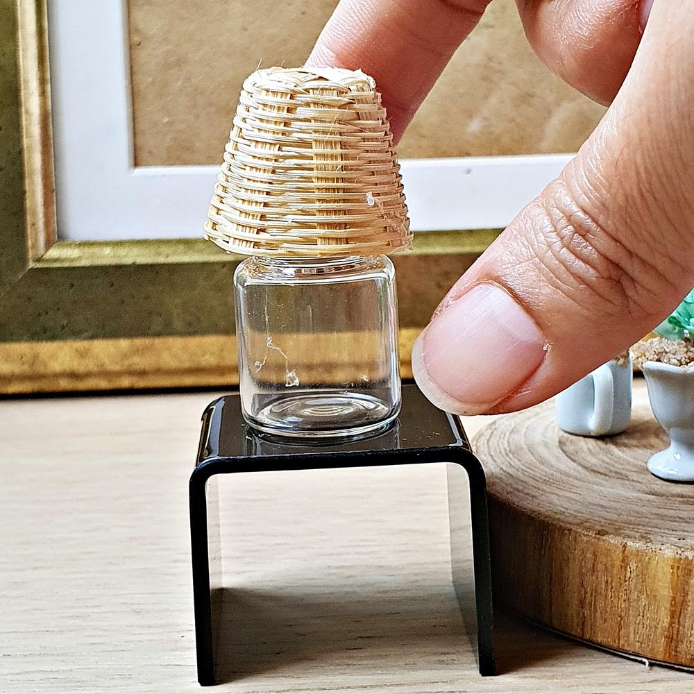 Dollhouse Miniatures Lamp Mini Tiny Doll Accessories Barbie Supply Handmade