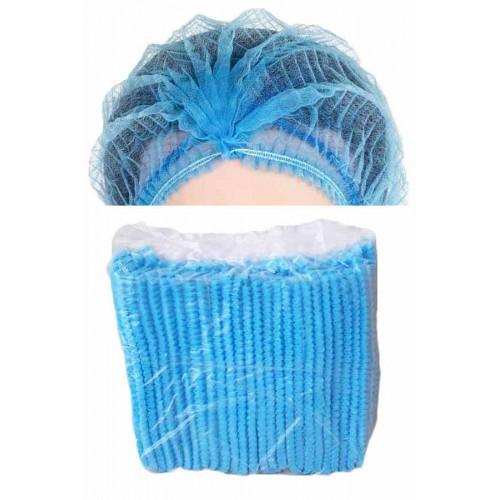 หมวกห้องปฏิบัติการสีฟ้า (หมวกตัวหนอน)
