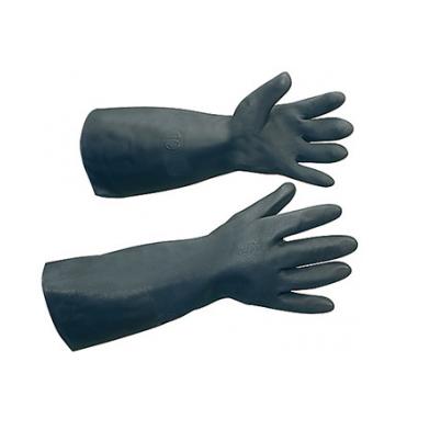 ถุงมือยางสีดำ Black Knight#BK31-18
