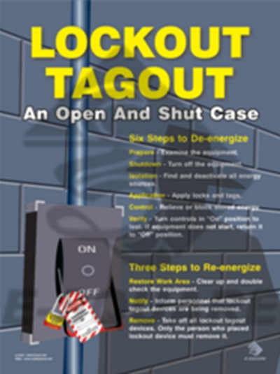 LOCKOUT SAFETY POSTERS