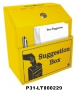 LOCKOUT SUGGESTION BOX