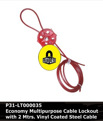 ECONOMY MULTIPURPOSE CABLE LOCKOUT