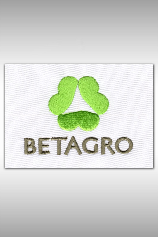 ตัวอย่างงานปัก Betagro
