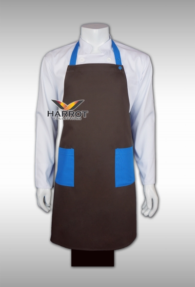Blue-Brown Full Apron