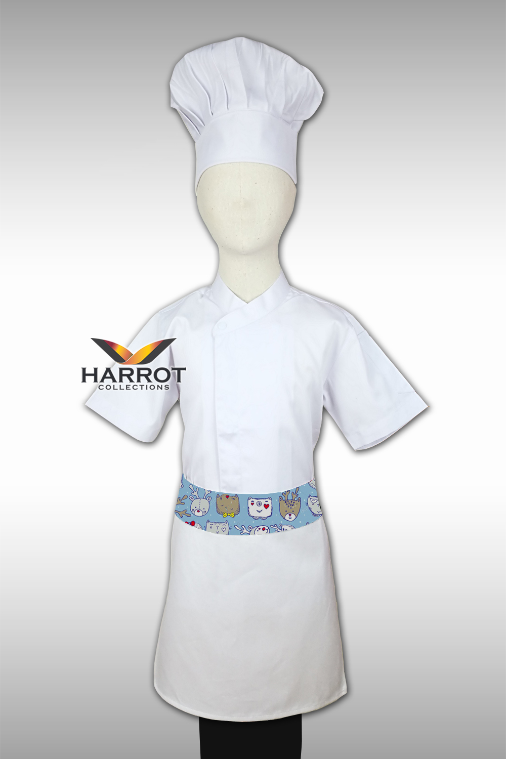 White Kid Chef Jacket