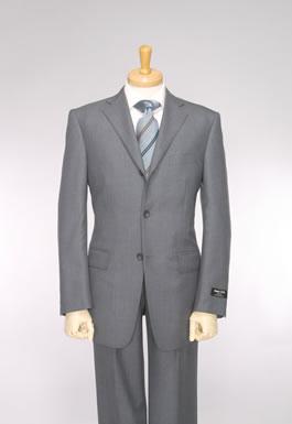กระดุม 3 เม็ด ,สีเทาฟ้า ,ผ้า Wool