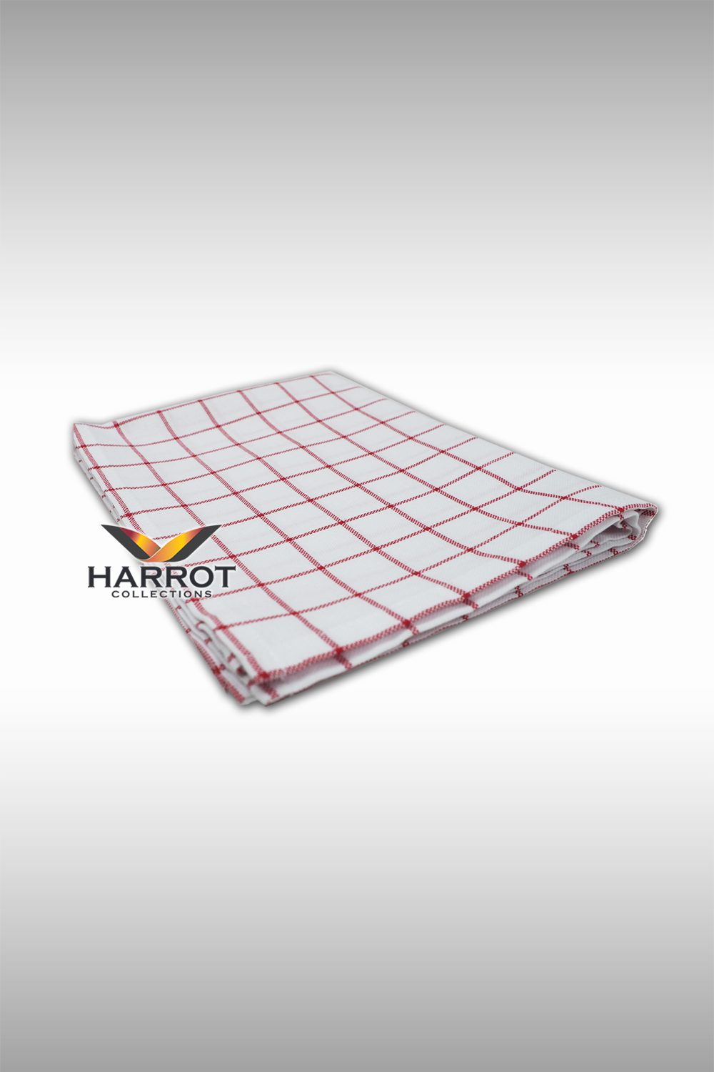 White-Red Scotch Dish towel(DTW0101)
