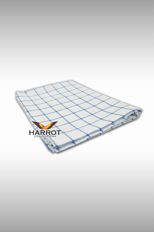 White-Blue Scotch Dish towel(DTW0102)