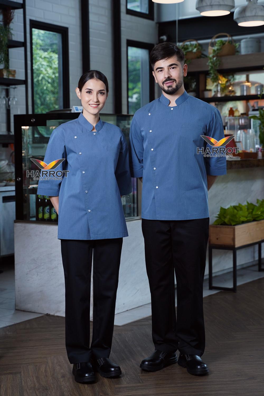 Indigo Blue Chef Jacket