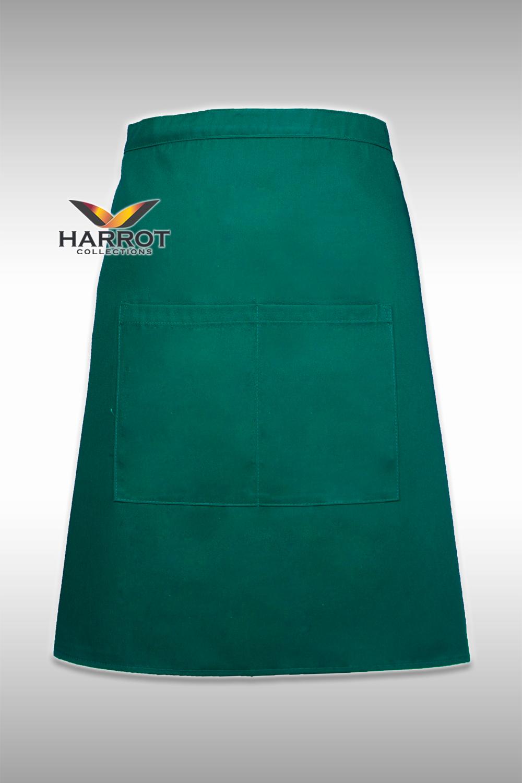 Green Half Short Apron (FSA0107)