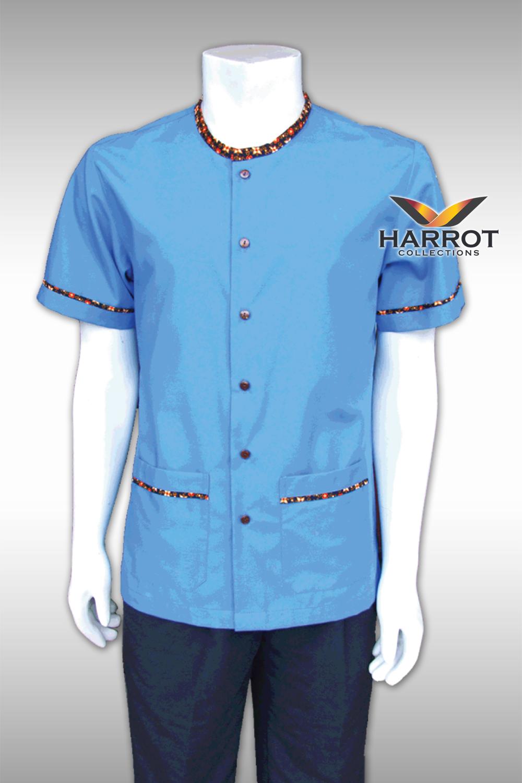 BLUE-THAI SHIRT HOUSEKEEPER
