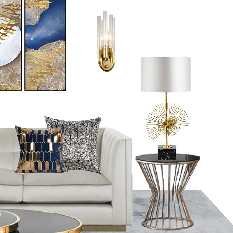 Table Lamp โคมไฟตั้งโต๊ะ รุ่น HAZEL  EVE-00505