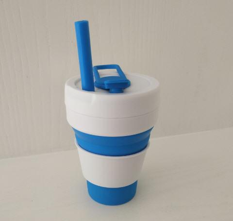 แก้วน้ำซิลิโคนพับได้,แก้วน้ำพับได้,แก้วน้ำซิลิโคนพับได้,แก้วพกพา,350ml