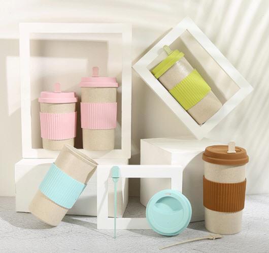 แก้วกาแฟ,แก้วฟางข้าวสาลี,แก้วน้ำรักษ์โลก