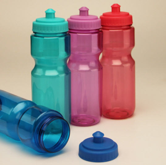 กระบอกน้ำพลาสติก,ขวดน้ำพลาสติก