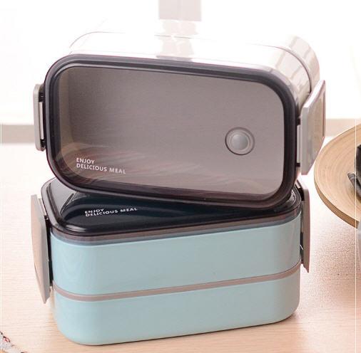 กล่องข้าว,กล่องใส่ข้าว,กล่องข้าวพร้อมช้อนส้อม,ปิ่นโตใส่อาหาร