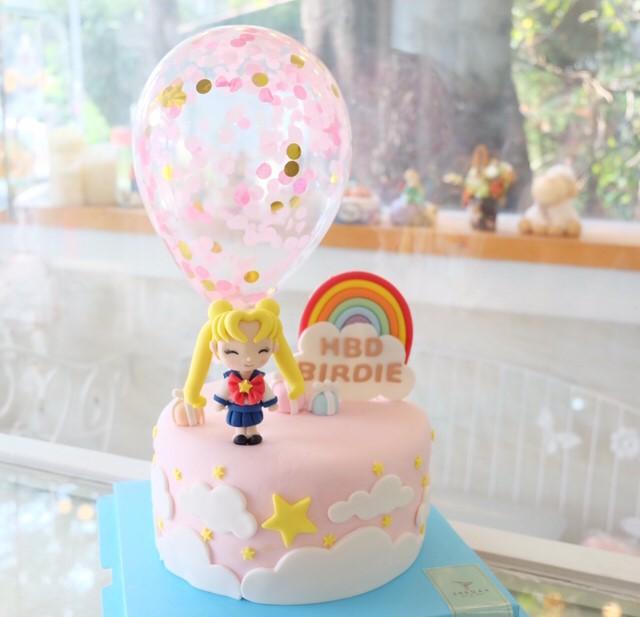 เค้กด่วน เค้กการ์ตูน เค้กเซเลอร์มูน Sailor moon cake