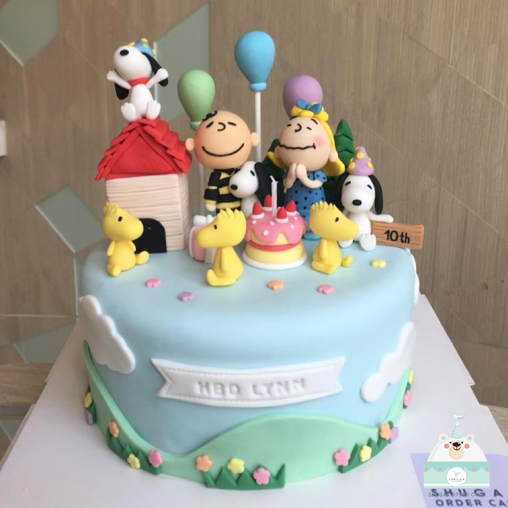 เค้กสนูปปี้ - Snoopy Cake