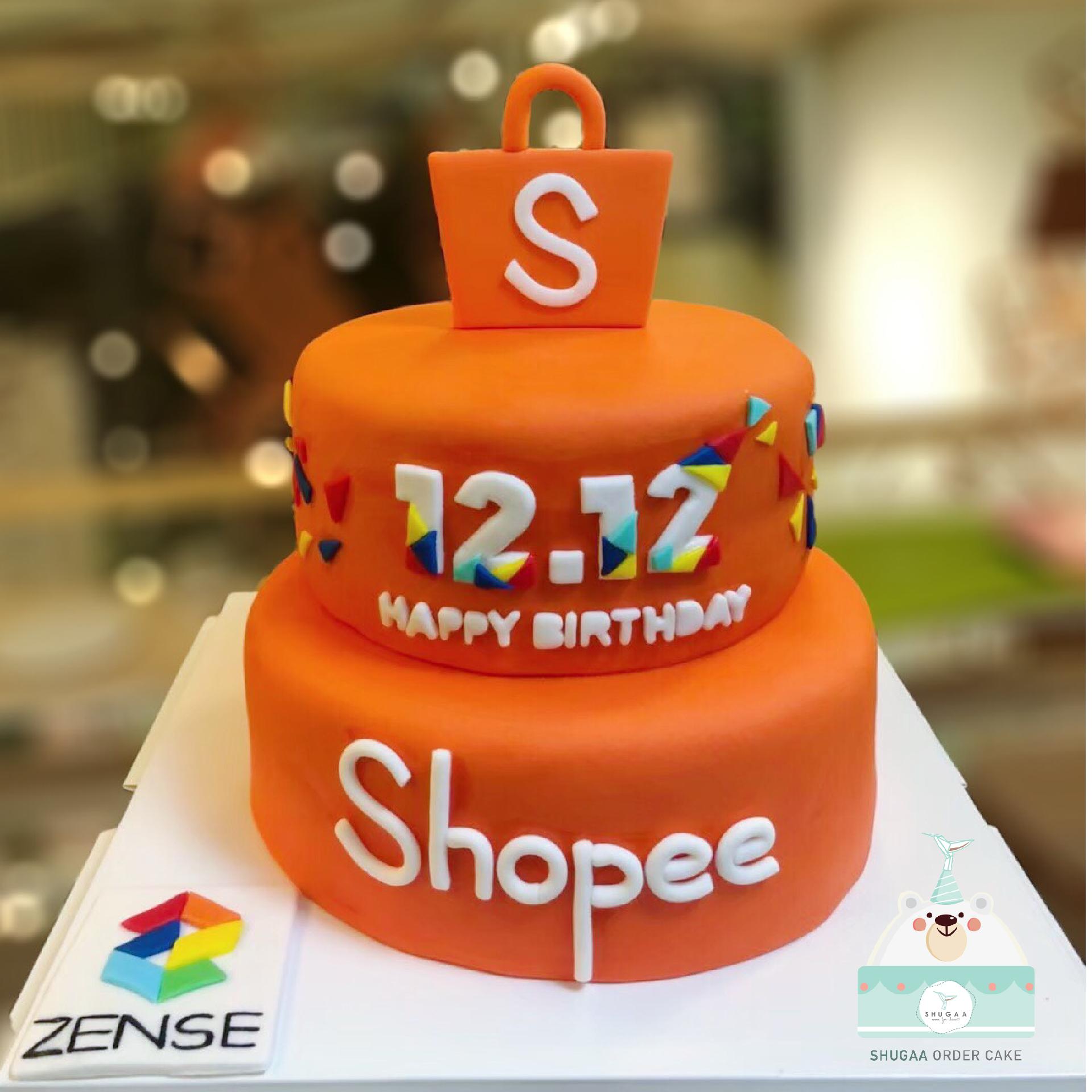 เค้กวันเกิดบริษัท เค้กครบรอบบริษัท