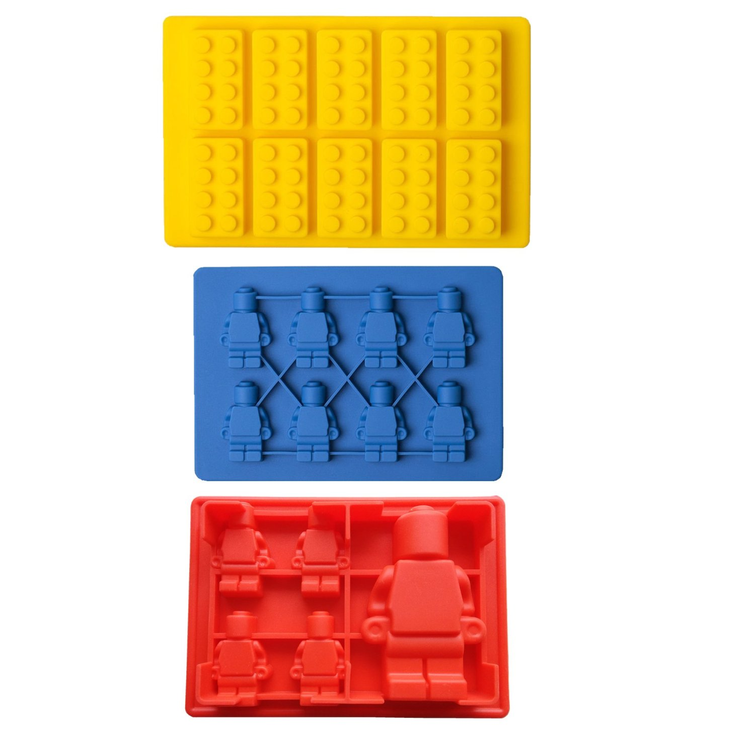 Building Bricks Lovers - Value Set Of 3, Lego