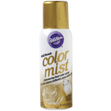 Wilton Color Mist Food Color Spray Gold