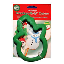 Wilton Comfort Grip Cookie Cutter-Snowman