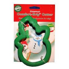 Wilton Comfort Grip Cookie Cutter-Snowman
