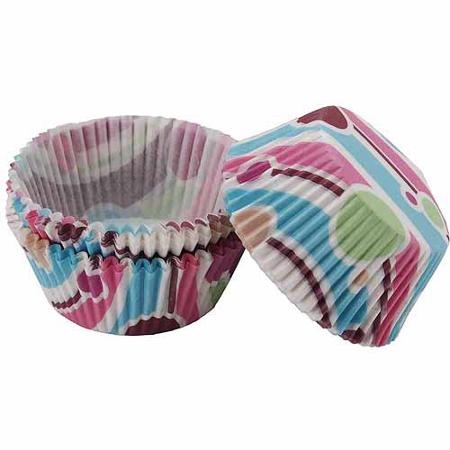 Wilton Bubble Stripes Baking Cups