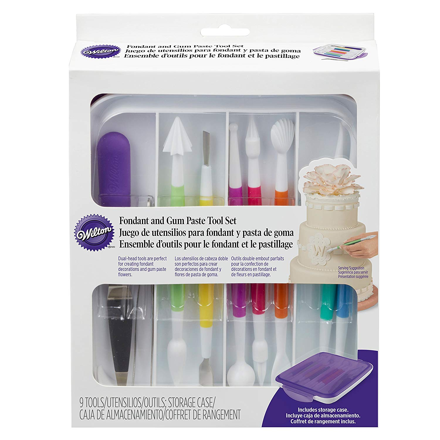 Wilton Fondant and Gum Paste Tools Set, 10-Piece by Wilton