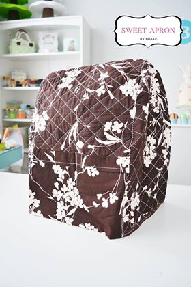 KitchenAid Cover Pro Brown flower