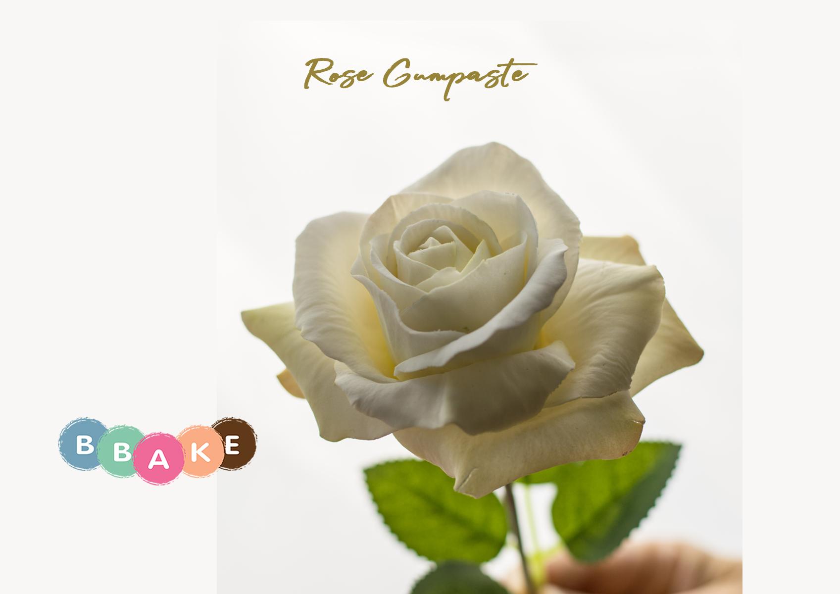 Rose Gumpaste