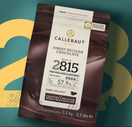 CALLEBAUT 57.9% - Finest Belgian Dark Chocolate  2815