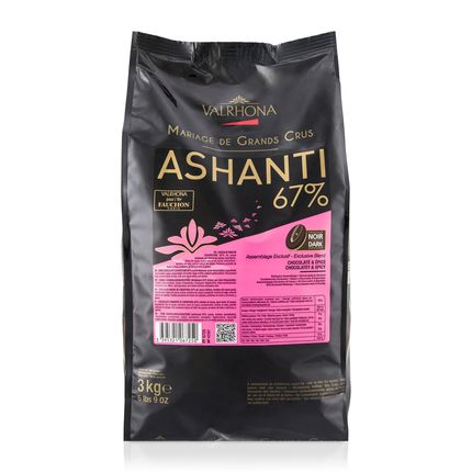 VALRHONA ASHANTI 67% - Dark Chocolate