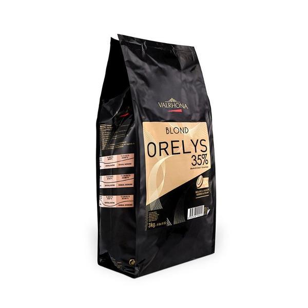 VALRHONA BLOND ORELYS 35% - Blond Chocolate
