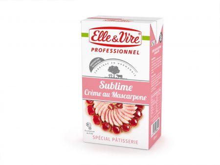 Elle&Vire  Sublime with Cream Mascarpone 1 Liter
