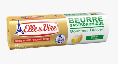 Elle&Vire Salted Gourmet Butter Roll 500g -เนยเค็ม