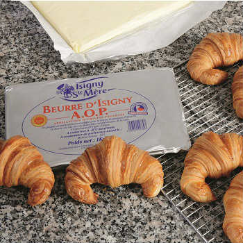 Isigny Sainte-Mère AOP Pastry Sheet 1kg (Unsalted Butter) - เนยทำครัวซองค์