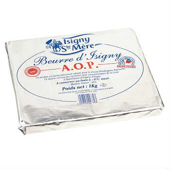 Isigny Sainte-Mère Pastry Sheet 1kg (Unsalted Butter) - เนยทำครัวซองค์