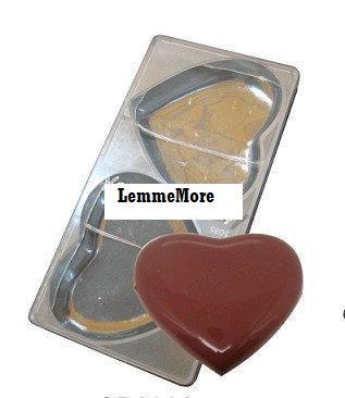 พิมพ์ช็อคโกแลต รูปหัวใจขนาดใหญ่ (2092)
