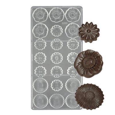 พิมพ์ช็อคโกแลต รูปดอกไม้ (2052)