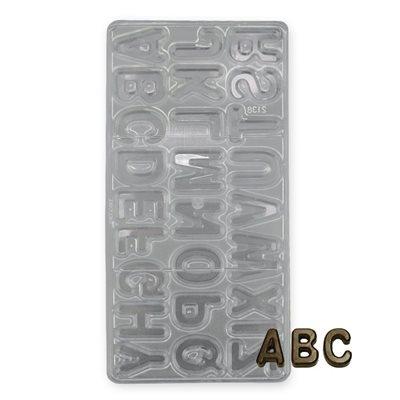 พิมพ์ช็อคโกแลต รูป Alphabets (2138)