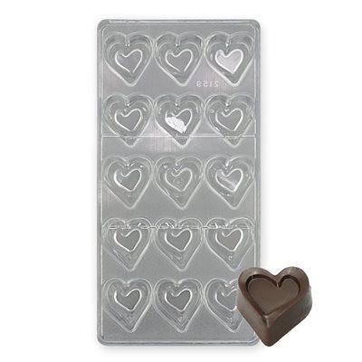 พิมพ์ช็อคโกแลต รูปหัวใจ (2159)