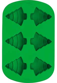 Wilton 6 Cavity Silicone Tree Mold