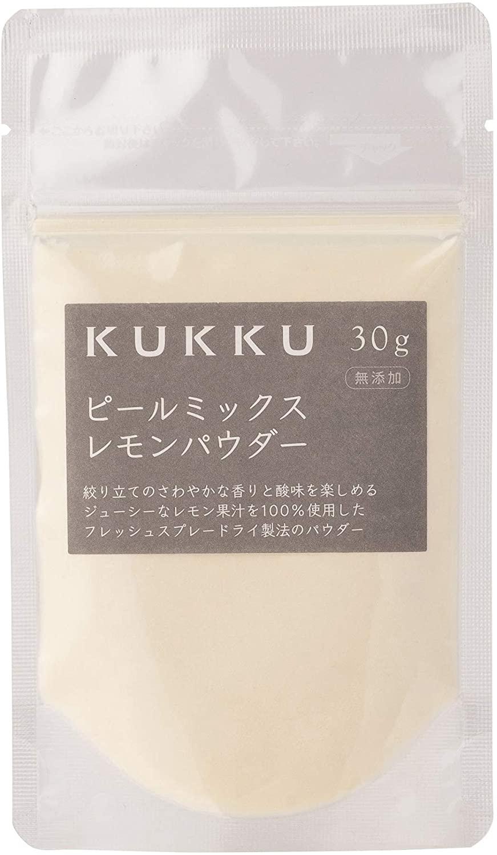 KUKKU Peel Mix Lemon Powder 30g Additive-free Fruit Powder