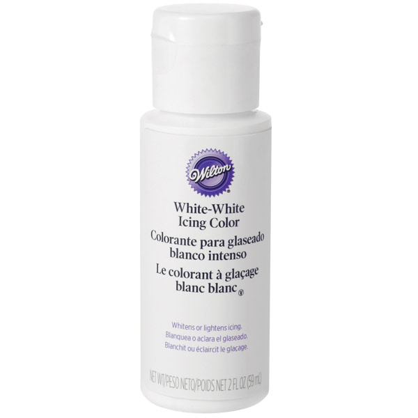 Wilton Wihite White Icing Color 2oz